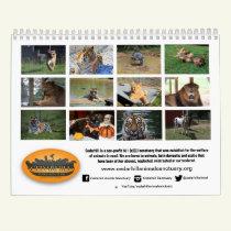 2019 Cedarhill Animal Sanctuary Calendar