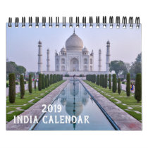 2019 Colors and Architecture of India Calendar