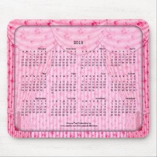2019 cortinas rosadas lamentables del cojín de tapetes de ratones