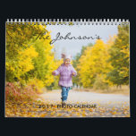 "2019 Custom Photo Calendar | Editable Year Text<br><div class=""desc"">Create a custom 2019 photo calendar today! Just add your best photos to the front,  back and each month of the year. An ideal one photo for each new page. Easily edit the custom text. The Calendar will make a wonderful gift for yourself,  family and friends.</div>"