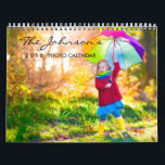 """2019 Custom Photo Calendar with Editable Year Text<br><div class=""""desc"""">Create a custom 2019 monthly photo calendar today! Just add your best photos to the front, back and each month of the year. An ideal one photo for each new page. Easily add custom text with a variety of elegant and modern fonts available. The Calendar will make a wonderful gift...</div>"""