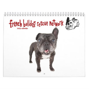 2019 FBRN French Bulldog Calendar