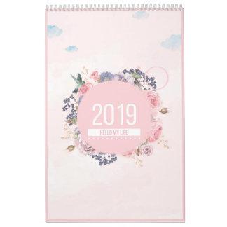 2019 Floral Greeting Calendar