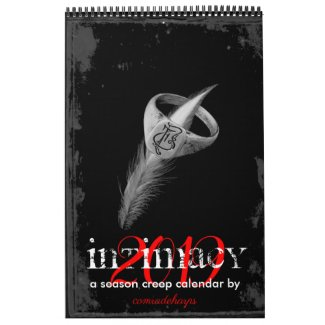 2019 INTIMACY season creep calendar
