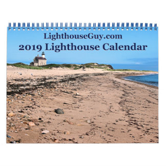 LighthouseGuy.com 2019  Lighthouse Calendar