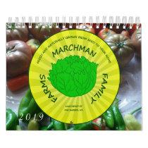 2019 Marchman Family Farms Calender Calendar