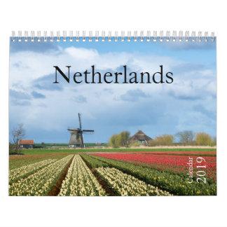 2019 Netherlands landscape photography calendar