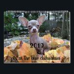 """2019 Oscar the blue chihuahua calendar<br><div class=""""desc"""">Get a daily dose of Oscar all year long!</div>"""