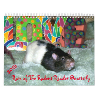 2019 RATS of the Rodent Reader Calendar
