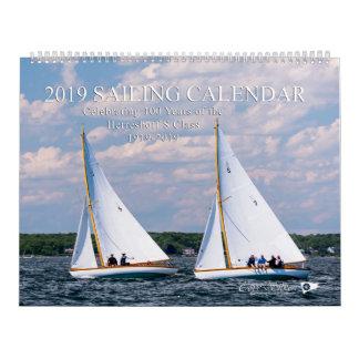 2019 Sailing Calendar by Cory Silken