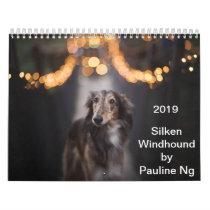 2019 Silken Windhound by Pauline Ng Calendar