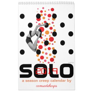 2019 SOLO season creep calendar