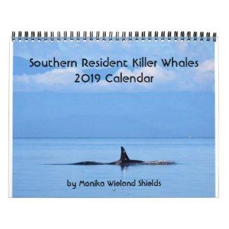 2019 Southern Resident Killer Whale Calendar