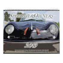 2019 SpeedsterOwners.com Calendar