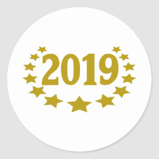 2019 stars-crown.png pegatina redonda