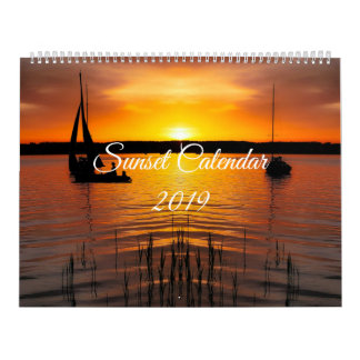 2019 Sunset Calendar