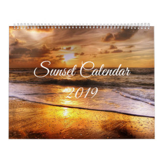 2019 Sunset Calendar (UK Holidays and Events)