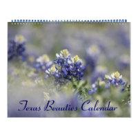 2019 Texas Bluebonnets Calendar
