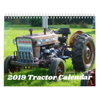 2019 Tractor Calendar