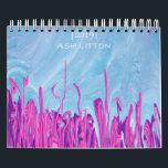 "2019 Variant Calendar<br><div class=""desc"">A 2019 variant calendar featuring poured acrylic paintings by Ash Litton.</div>"
