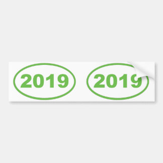 2019 verdes claros pegatina para auto