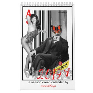 2019 VINTAGE a season creep calendar