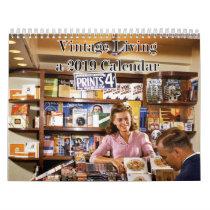 2019 Vintage Living Calendar