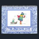 "2019 Westie Calendar by Deborah Borgo<br><div class=""desc"">The 2019 Artful Westie Calendar features the characters &quot;Lil Louise and Mo&quot; from Deborah Borgo&#39;s 2018 Sketch a Day Project.</div>"