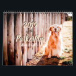 """2019 with ParkerPup, Reser &amp; Gill Calendar<br><div class=""""desc"""">Celebrate the entire year with social media stars,  Parker,  Reser,  and Gill! How can anyone resist these faces. They will make you smile,  laugh,  and help remind you of important events in your life. Good dogs!</div>"""