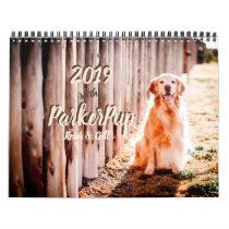 2019 with ParkerPup, Reser & Gill Calendar