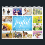 "2019 Your Own Photo Calendar | Joyful<br><div class=""desc"">Create your own family photo calendar for 2019 by using this template. Personalize this collage calendar with your family name and the year. Put pictures with joyful moments on each page. Let the treasured memories of DIY calendar give your family lots of energy each day in 2019. If you'd like...</div>"