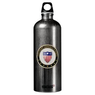 [201] Adjutant General's Corps Branch Insignia [3D Aluminum Water Bottle