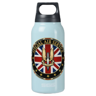[201] Special Air Service (SAS) Badge [3D] Thermos Bottle