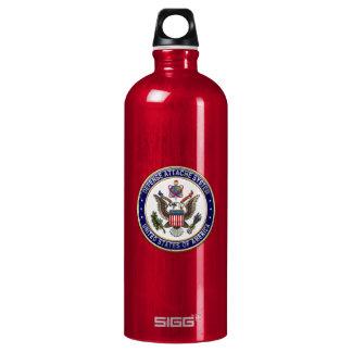 [201] U.S. Defense Attaché System (DAS) Emblem [3D SIGG Traveler 1.0L Water Bottle