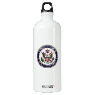 [201] U.S. Defense Attaché System (DAS) Emblem [3D Water Bottle