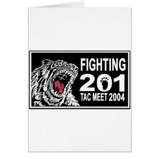 201SQ 2004 TAC AIR MEET CARD