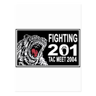 201SQ 2004 TAC AIR MEET POSTCARD