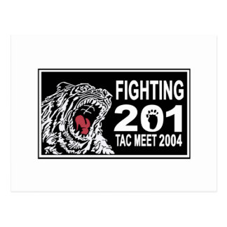 201SQ 2004 TAC AIR MEET POSTCARD