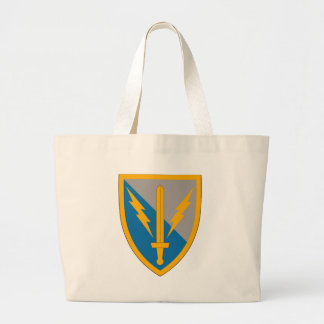201st Battlefield Surveillance Brigade Large Tote Bag