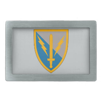 201st Battlefield Surveillance Brigade Rectangular Belt Buckle