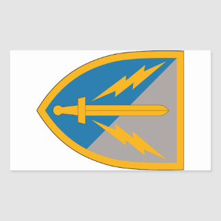 201st Battlefield Surveillance Brigade Rectangular Sticker