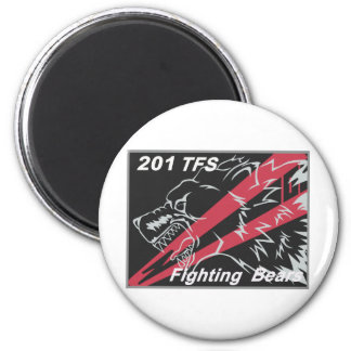 201st TFS 2009 Tac Meet Patch 2 Inch Round Magnet