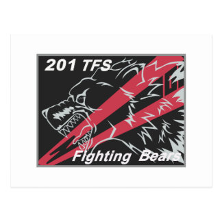 201st TFS 2009 Tac Meet Patch Postcard