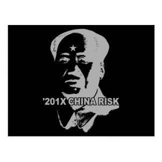 201X China Risk Postcard