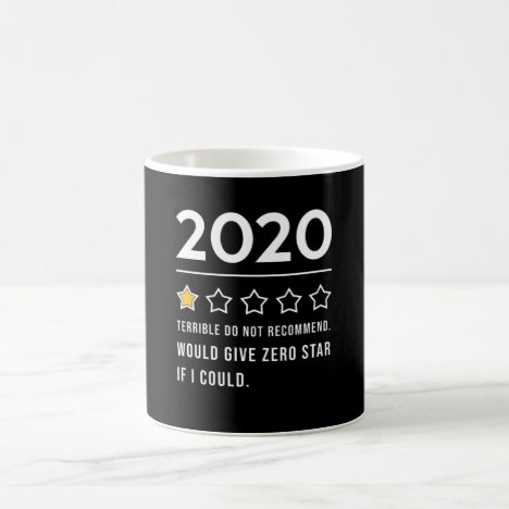 2020 1 Star Rating Coffee Mug