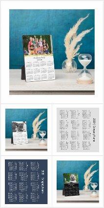 2020 Calendar Desktop Plaques