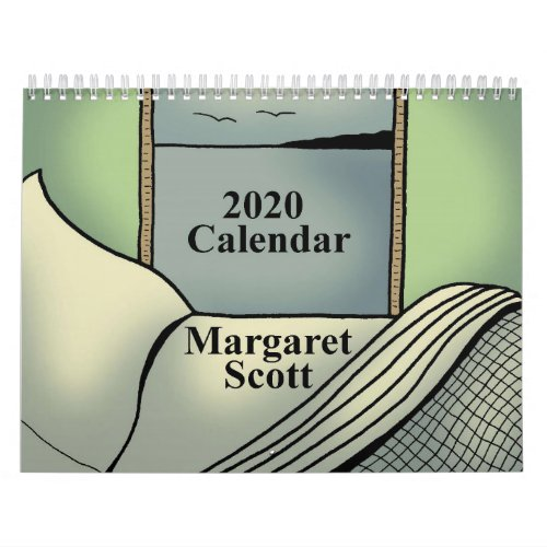 2020 Calendar featuring artwork by Margaret Scott