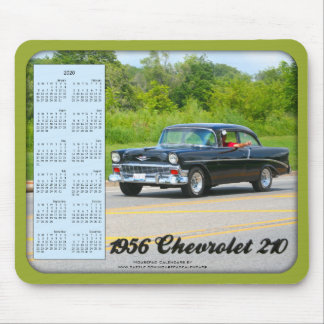 2020 Calendar Mousepad, 1956 Chevrolet 210 Car Mouse Pad