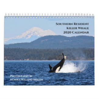 2020 Calendar Southern Resident Killer Whales