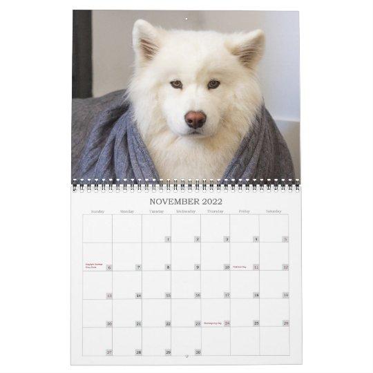 Rice Fall 2022 Calendar.2020 Coconut Rice Bear Calendar Zazzle Com